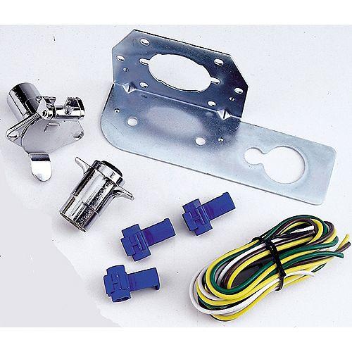 Nécessaire de connecteur rond à 4 voies REESE Towpower<sup>®</sup>