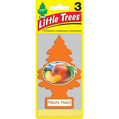 Désodorisant pour l'auto Peachy Peach, paq.3