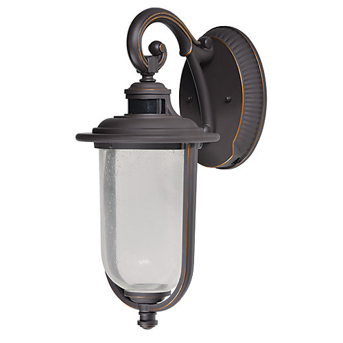 Perdido Motion-Sensing Exterior LED wall lantern