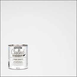 Chalked Ultra Matte Paint in Linen White, 887 mL