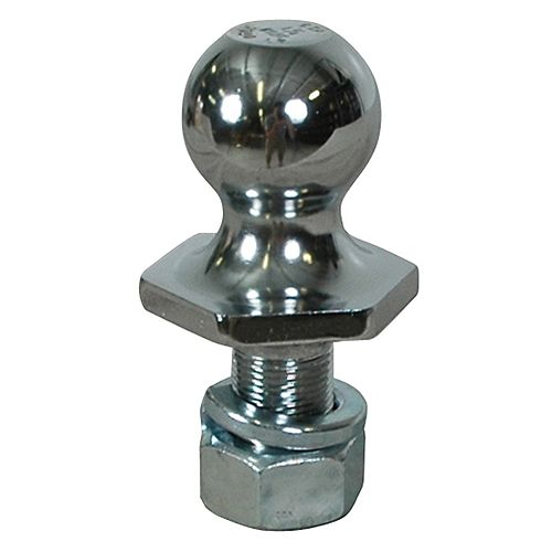 1-7/8 inch x 1-inch x 2-inch Chrome Steel InterLock Hitch Ball