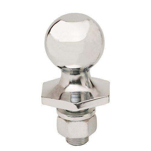 2-inch x 3/4-inch x 1 1/2-inch Chrome Steel InterLock Hitch Ball