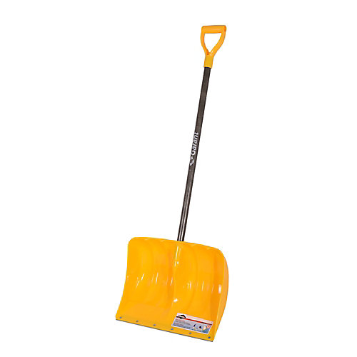 19-inch Poly Snow Shovel with Wear Strip