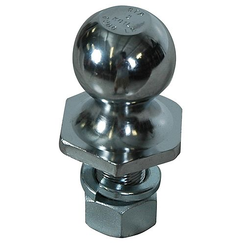 2-inch x 1-inch x 2-inch Chrome Steel InterLock Hitch Ball