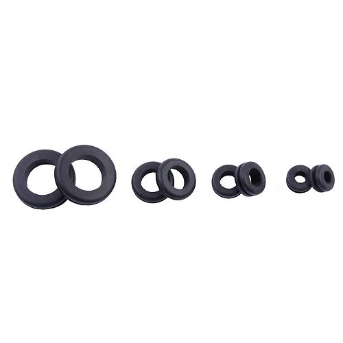 Grommets Assortment 2 Each 1/4-inch 3/8-inch 1/2-inch 3/4-inch (8-Pack)