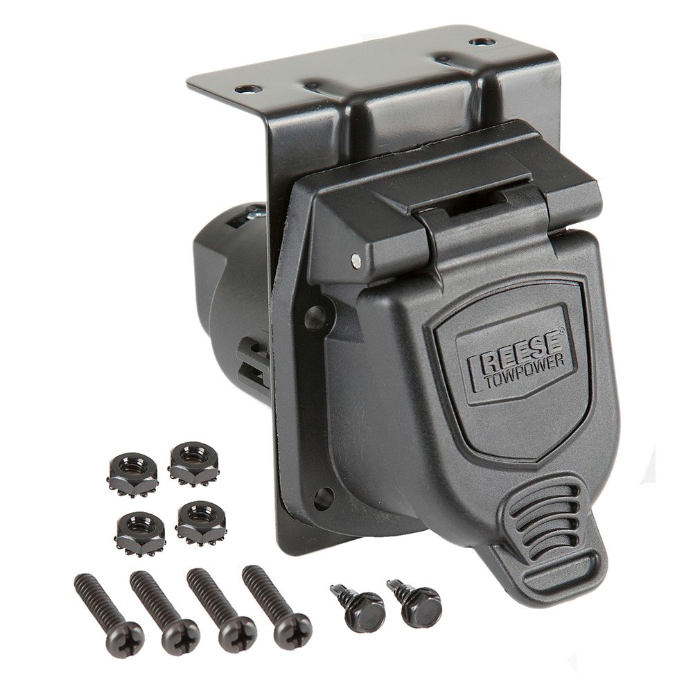 Reese Towpower 7  Way Vehicle Connector