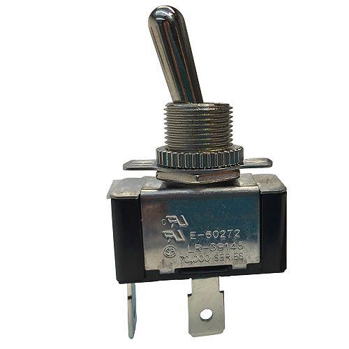 Interrupteur à levier, 20 A 125 VCA, marche-arrêt, 1/paq.