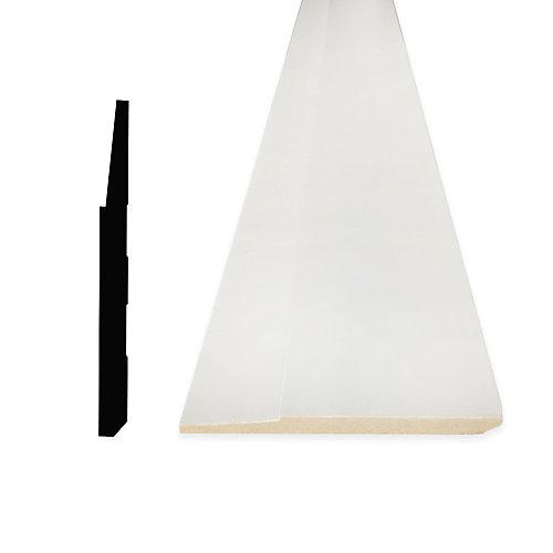 Plinthe en MDF Prepeint 5/8 po x 5-1/2 po