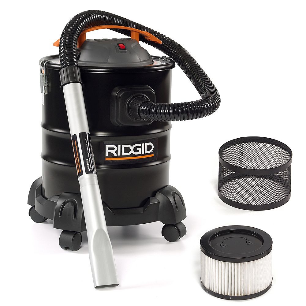 RIDGID Steel Ash Vacuum 19 Litre (5 Gallon)
