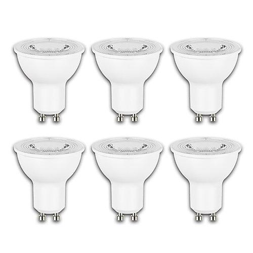 50W Equivalent Daylight (5000K) GU10 Dimmable LED Flood Light Bulb (6-Pack) - ENERGY STAR®