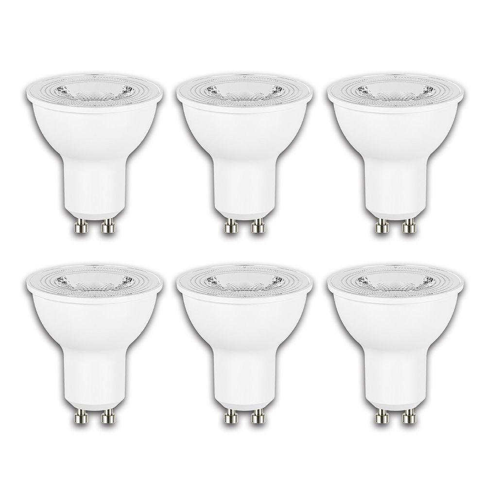 Ecosmart 50W Equivalent Daylight (5000K) GU10 Dimmable LED Flood Light Bulb (6-Pack) - ENERGY STAR®