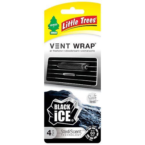 Désodorisant pour l'auto Vent Wrap, Black Ice
