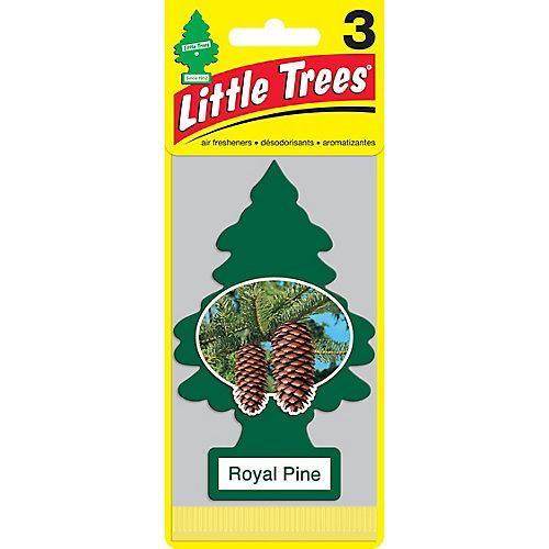 Désodorisant pour l'auto Royal Pine, paq.3
