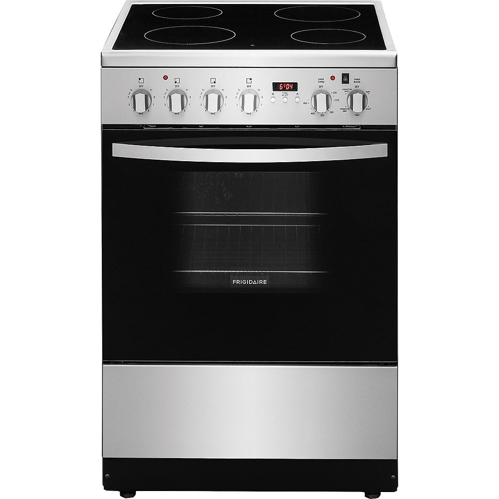 Frigidaire 24-inch 1.9 cu. ft. Freestanding Electric Range in Stainless Steel