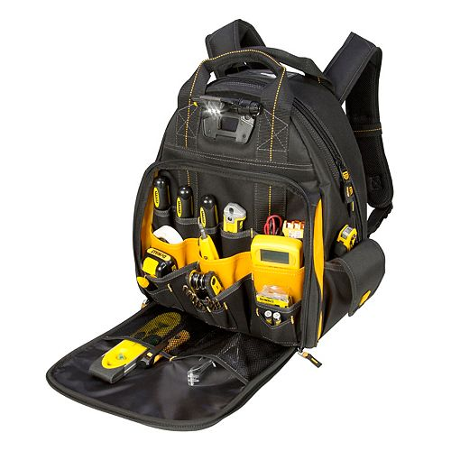 57-Pocket LED Lighted Backpack