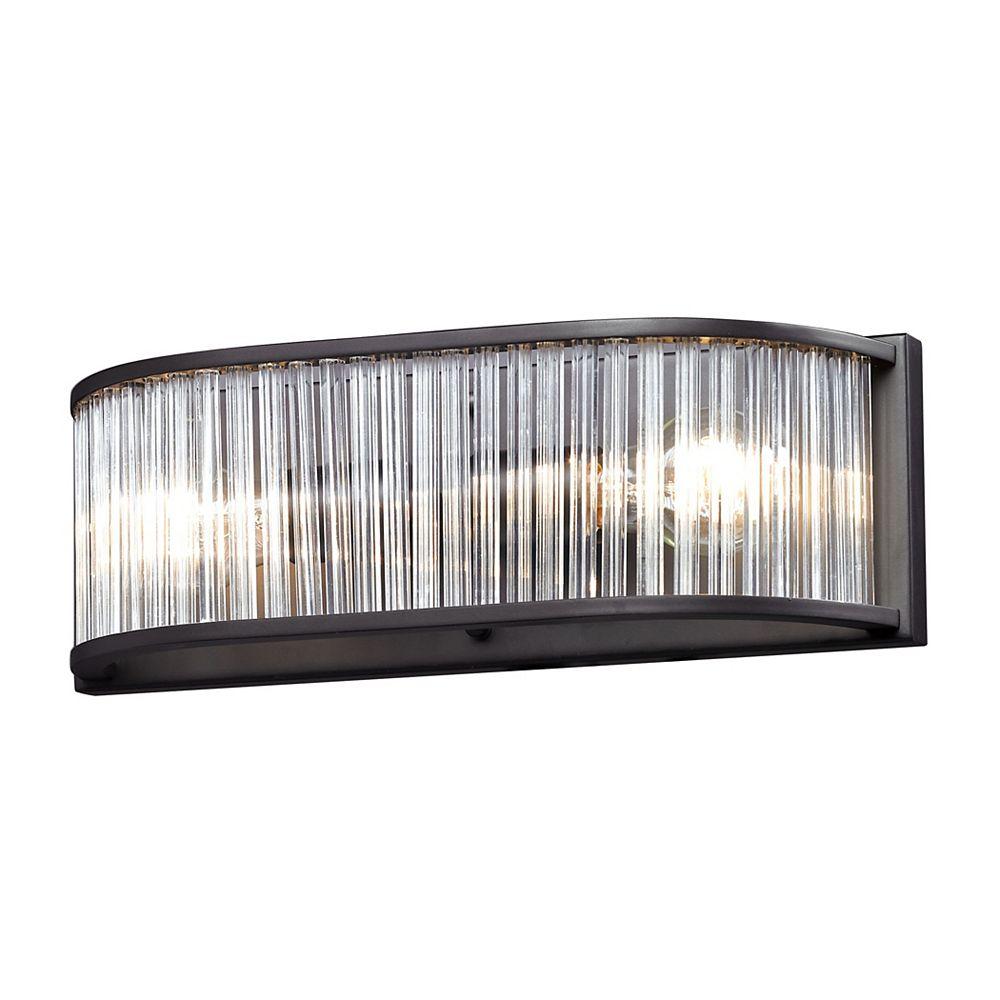 titan lighting braxton 2-light bath vanity light fixture