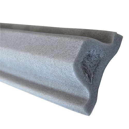 Défense pour embarcation, 48 po, gris