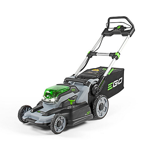 POWER+ 20-Inch 56V Li-Ion Cordless Electric Walk Behind Push Lawn Mower (Tool Only)