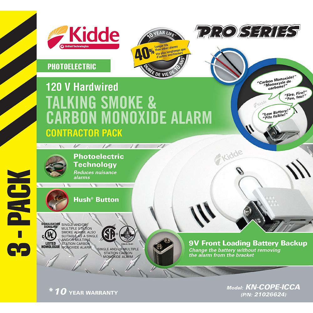 Kidde Combination Alarms  (3-Pack)