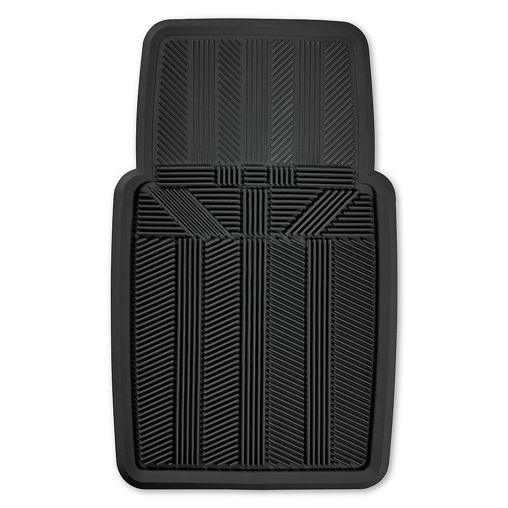 Kraco Premium Rubber Slush Mat - BLK