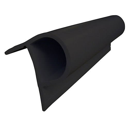 Small P Profile, 24 feet/carton, Black