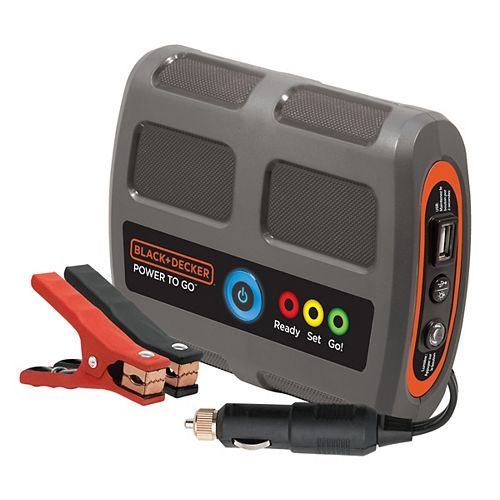 B&D Portable Power To Go Battery Booster