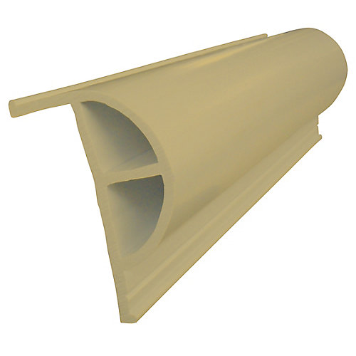 "Heavy ""P"" PRODOCK Profile, 24 feet/carton, Beige"