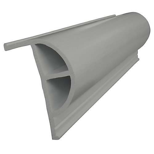 "Heavy ""P"" PRODOCK Profile, 24 feet/carton, Grey"
