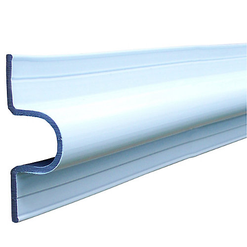 C Guard Profile, 10 feet Roll, White