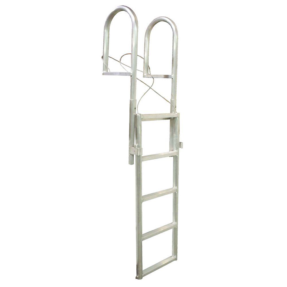 """Dock Edge """"Aluminum Dock Ladder, 7-Step Sli"""""""