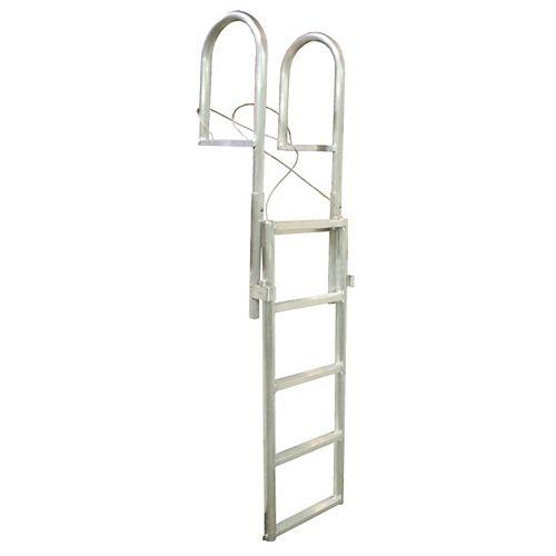 """""""Aluminum Dock Ladder, 7-Step Sli"""""""
