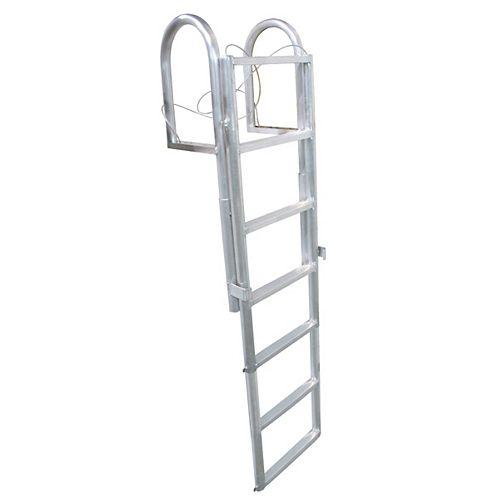 """""""Aluminum Dock Ladder, 5-Step Sli"""""""