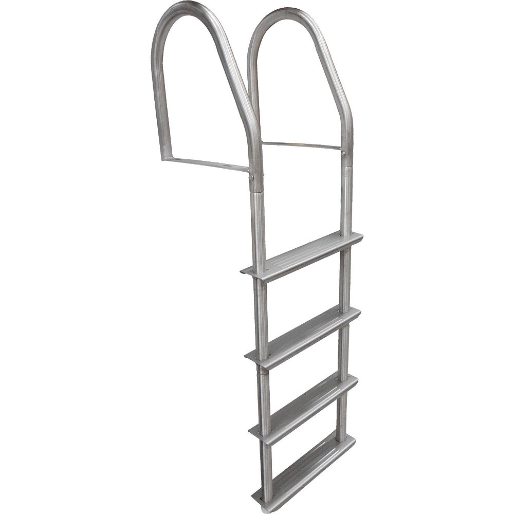 Dock Edge 4 Step Stainless Steel Fixed Doc