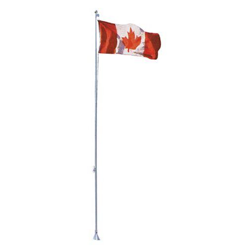 Mât de drapeau «Flexi-Flag», 21 pi, avec drapeau canadien