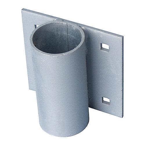 Support de poteau dancrage, robuste