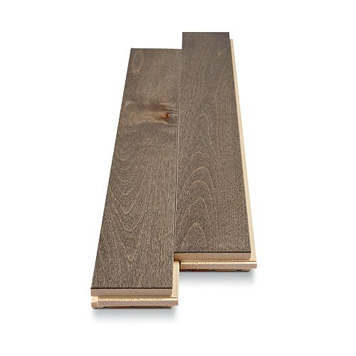 Mono Serra Group Plancher, 2 3/4 po x 3/4 po, Merisier canadien platine, 20 pi2/boîte