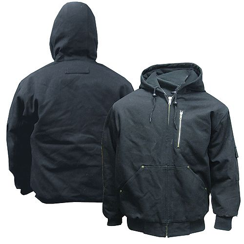 Blouson SB, coton, taille 2XL, noir