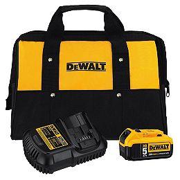 Ensemble de batterie et chargeur 20V MAX 5Ah avec sac