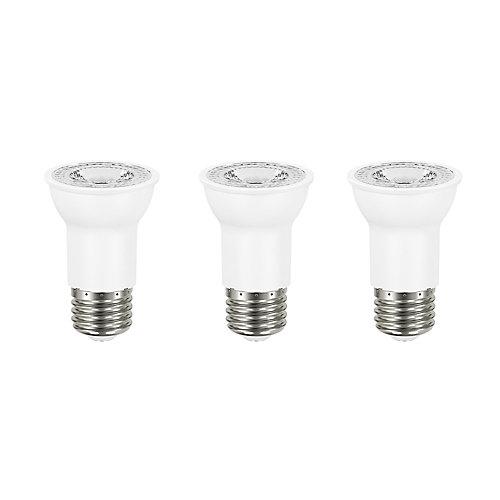 50W Equivalent Daylight (5000K) PAR16 Dimmable LED Flood Light Bulb (3-Pack) - ENERGY STAR®