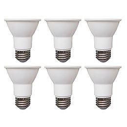 50W Equivalent Daylight (5000K) PAR20 Dimmable LED Flood Light Bulb (6-Pack)