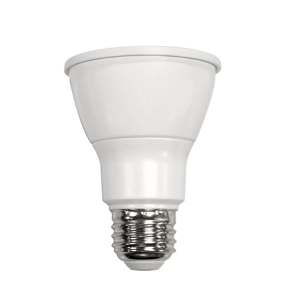 Ecosmart Ampoule DEL PAR20 faisc large et temp couleur variable (2700 K à 6500 K) télécommandée, équiv. 50 W