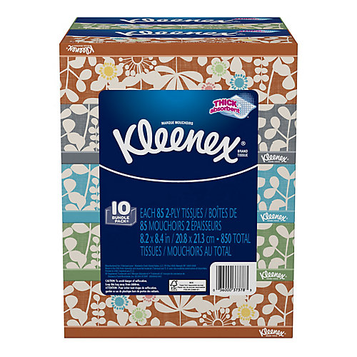 Box of 85 Everyday Tissues (10-Pack)