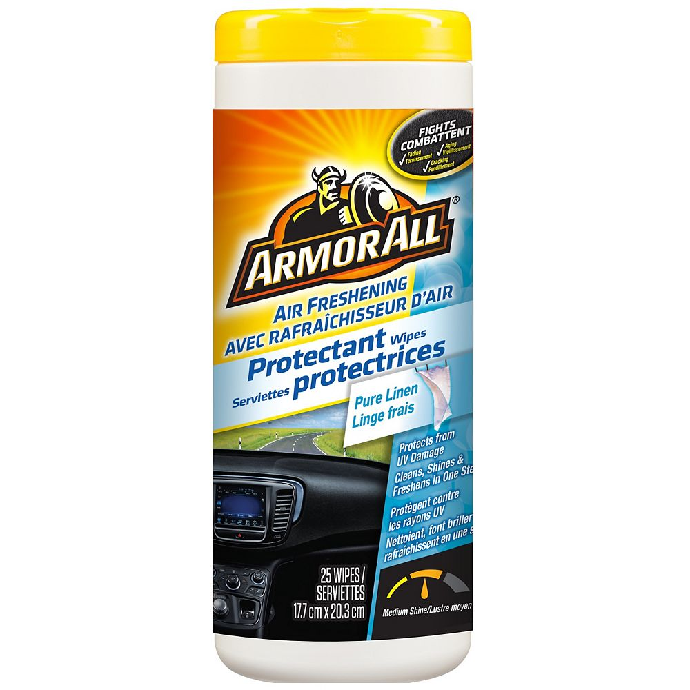 Armor All Protectant Wipes- New Car 25ct