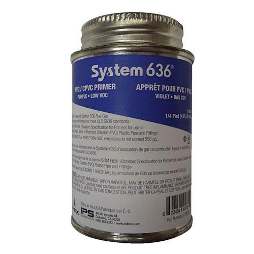 APPRÊT PVC/PVCC - SYSTÈME 636 - 118ml