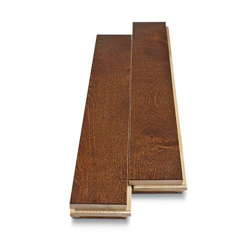 Canadian Birch Espresso 3/4-inch Thick x 2 3/4-inch W Hardwood Flooring (20 sq.ft/ cs)