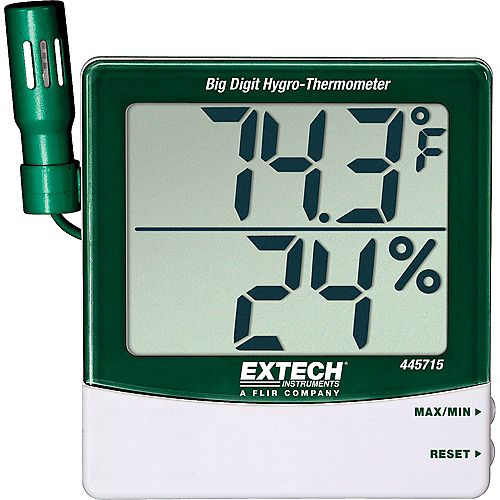 Extech Instruments Humidity Alert With Remote Probe