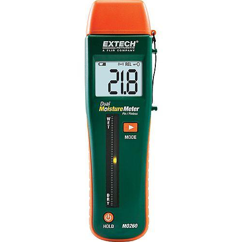 Combination Pin/Pinless Moisture Meter