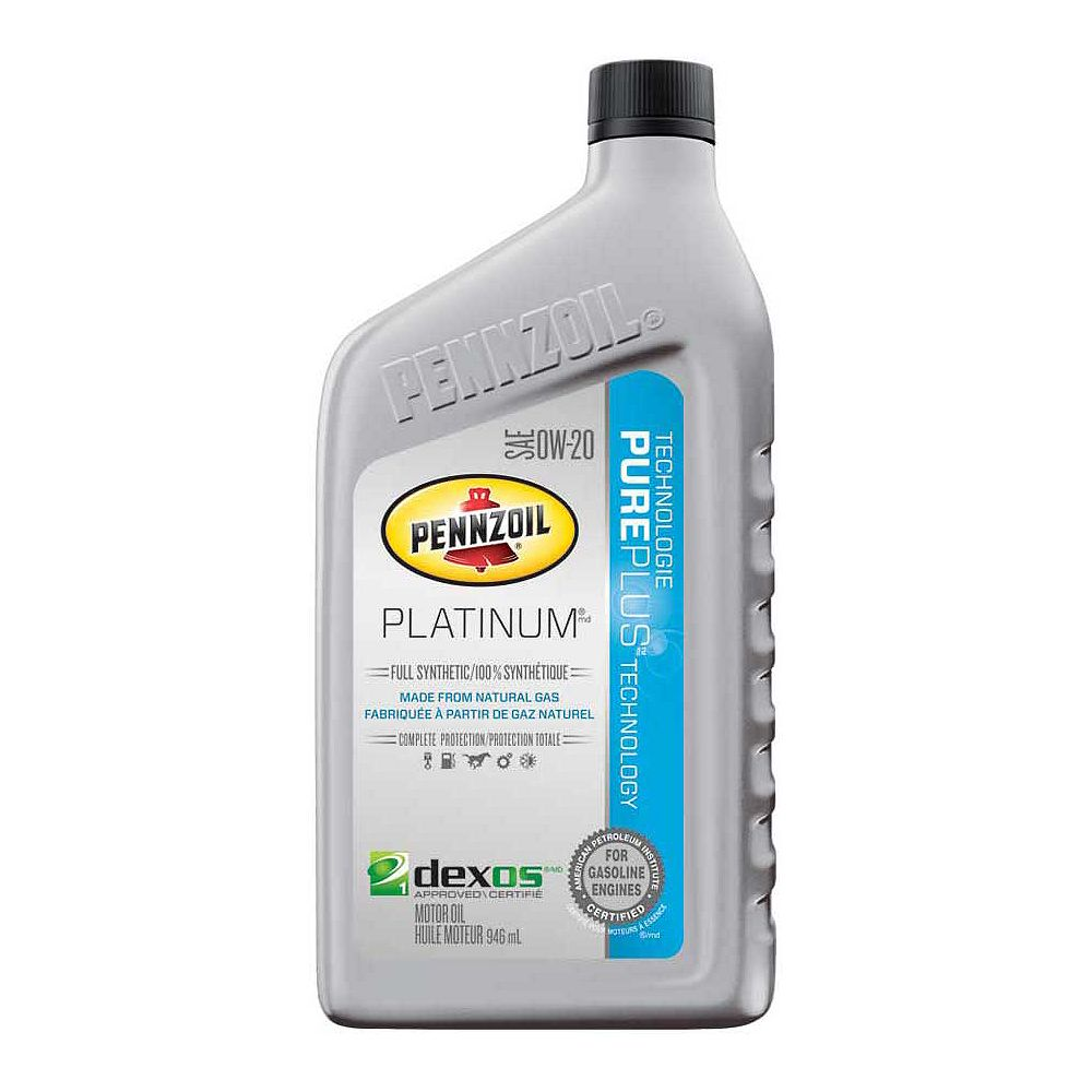 Pennzoil 0W20 946 Ml Bottle