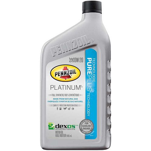 Pennzoil 0W20 946 Ml Bottle