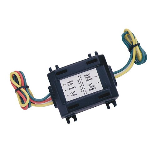 Trailer Light 5 Wire To 4 Wire Adapter